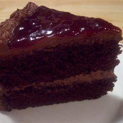 Deep Dark Chocolate Cake