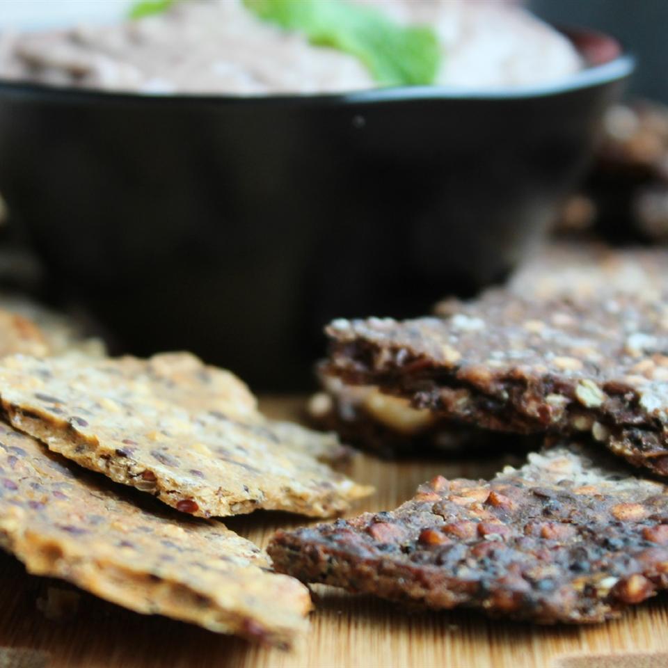 Gluten-Free Teff Crackers Buckwheat Queen