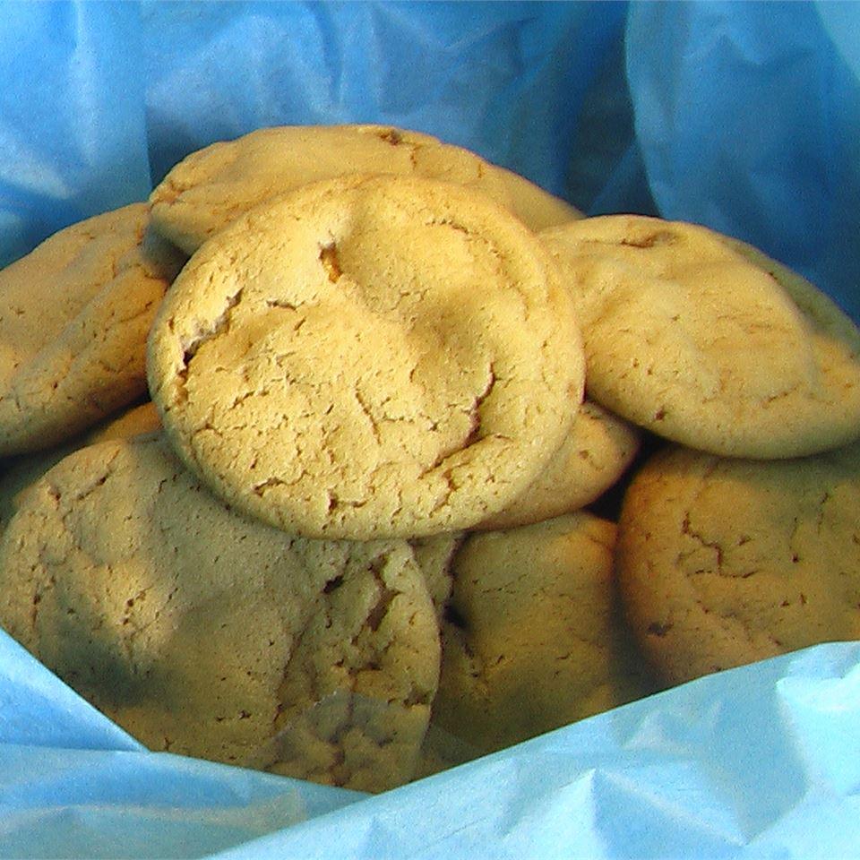 Caramel Nougat Bar Peanut Butter Cookies