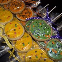 Lollipop Sugar Cookies momlovestocook