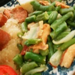 Easy Homestyle Green Beans 1gdcowgrl gone