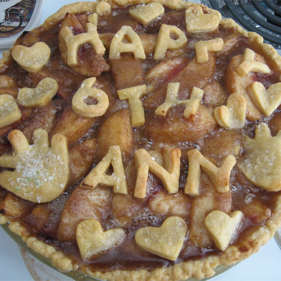 Single Crust Peach Pie momma_s
