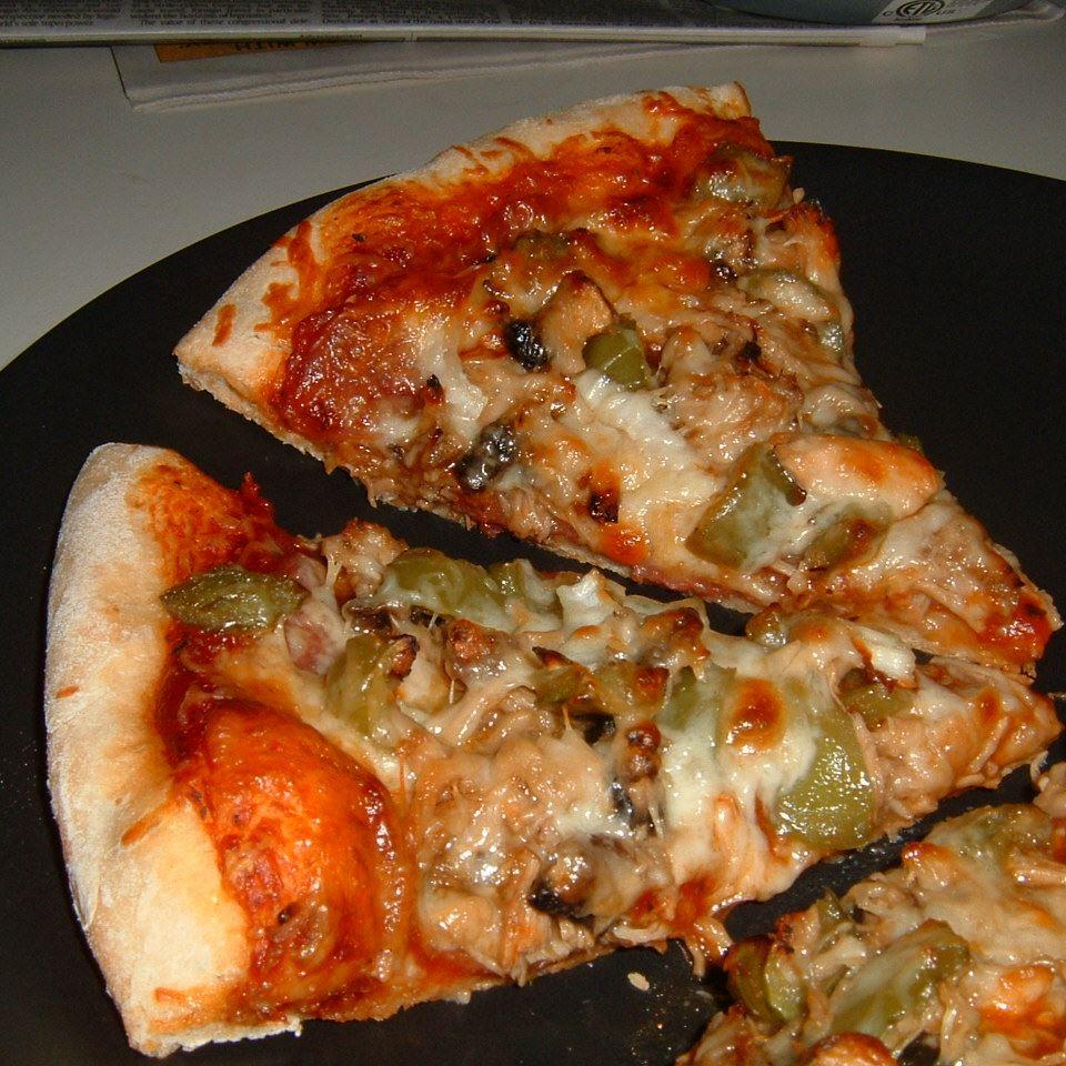 Jerk Chicken Pizza AMIEEWILSON