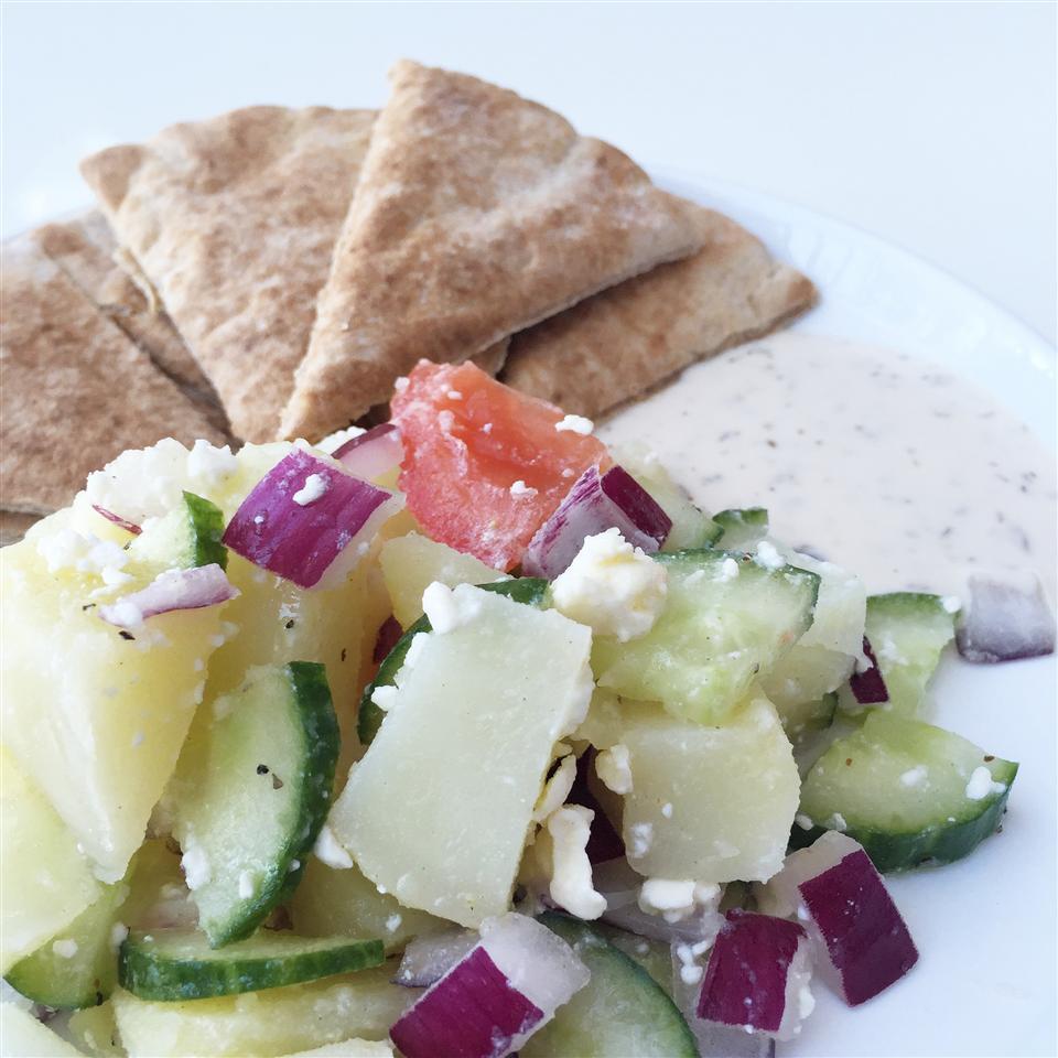 Mediterranean Potato Salad House of Aqua