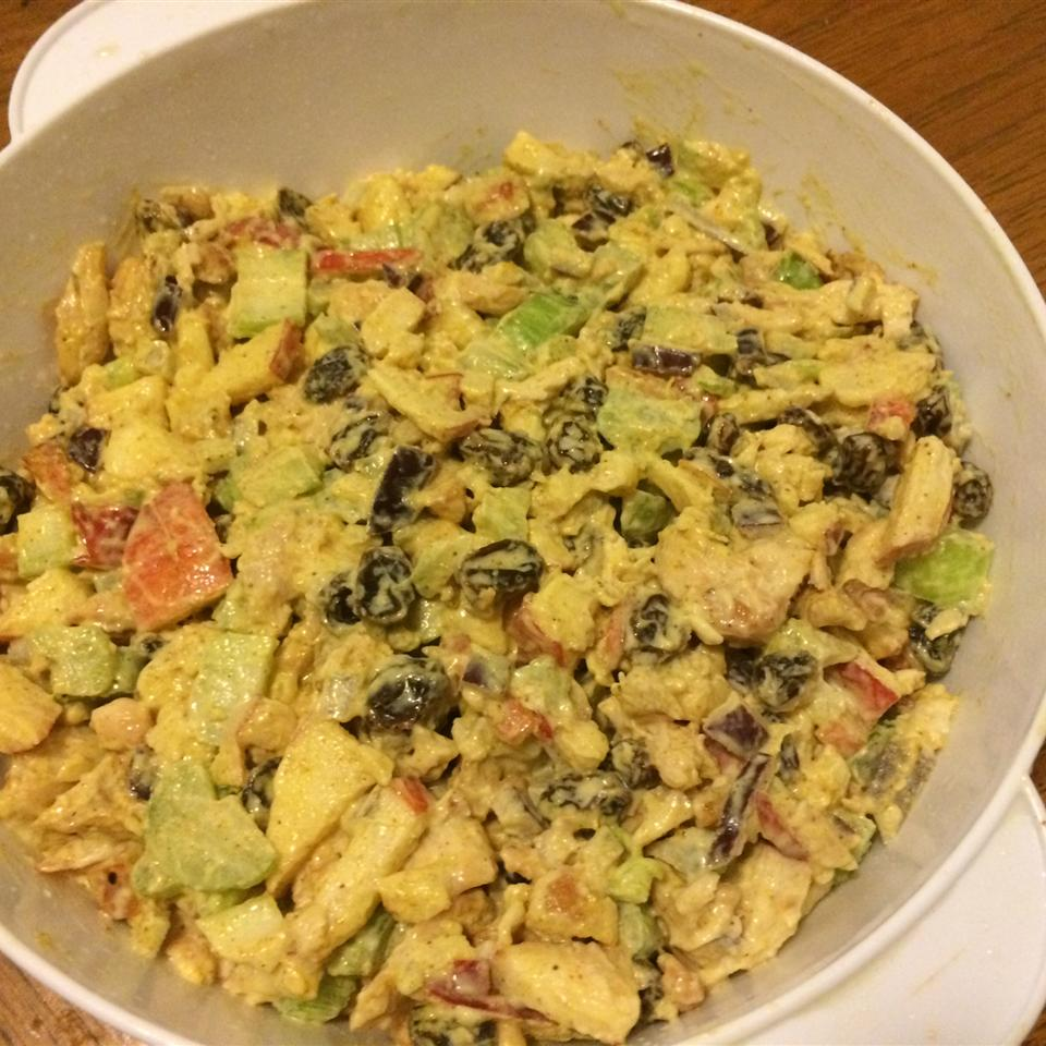 Chicken Curry Salad in a Hurry Juan Espinal