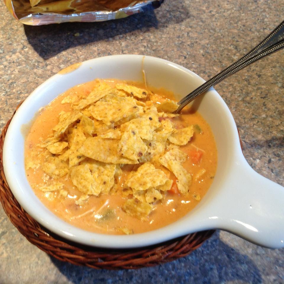 Cheesy Tortilla Soup Smcquown