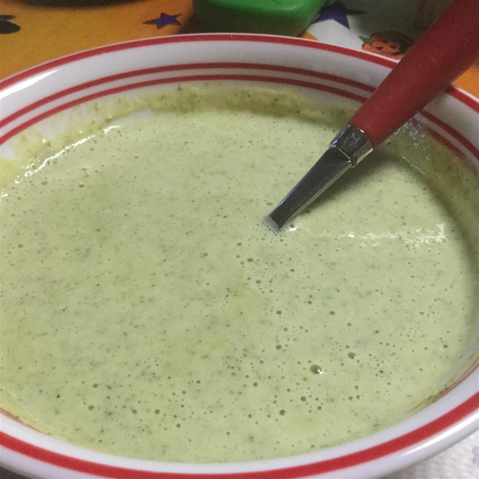 Easiest Broccoli Soup EVER Kat