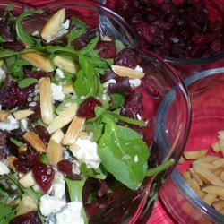 Jamie's Cranberry Spinach Salad Kim's Cooking Now