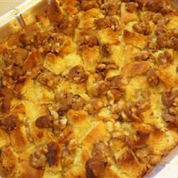 Sweet Potato, Pear and Pineapple Bread Pudding Michaela