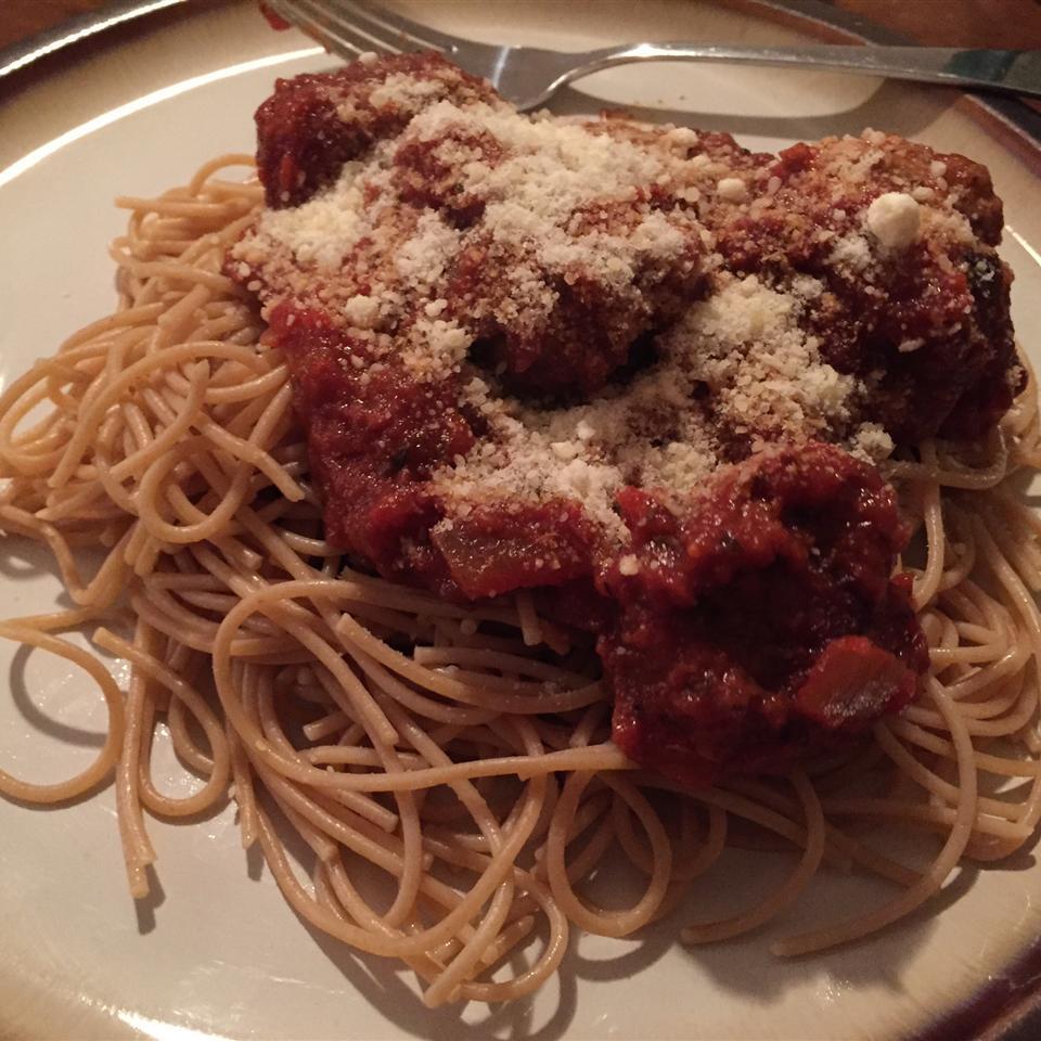 Megan's Amazing Spaghetti and Meatballs Jeni