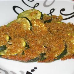 Baked Zucchini de Provence
