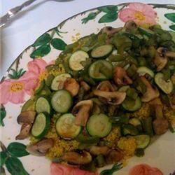 Roasted Veggies with Couscous Ashley
