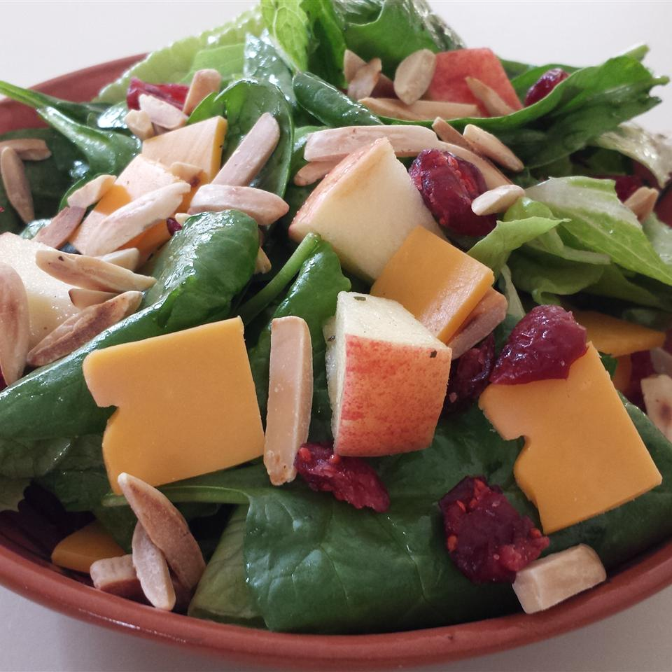 Super Seven Spinach Salad