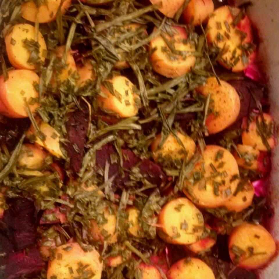 Purple Beet, Carrot, and Onion Medley John Zeitler