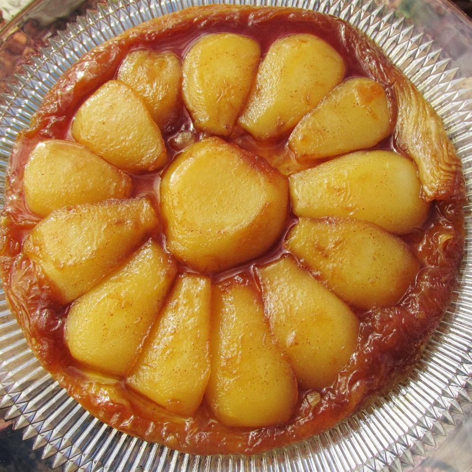 Maple-Pear Tarte Tatin