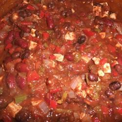 Meatiest Vegetarian Chili From Your Slow Cooker kalo925