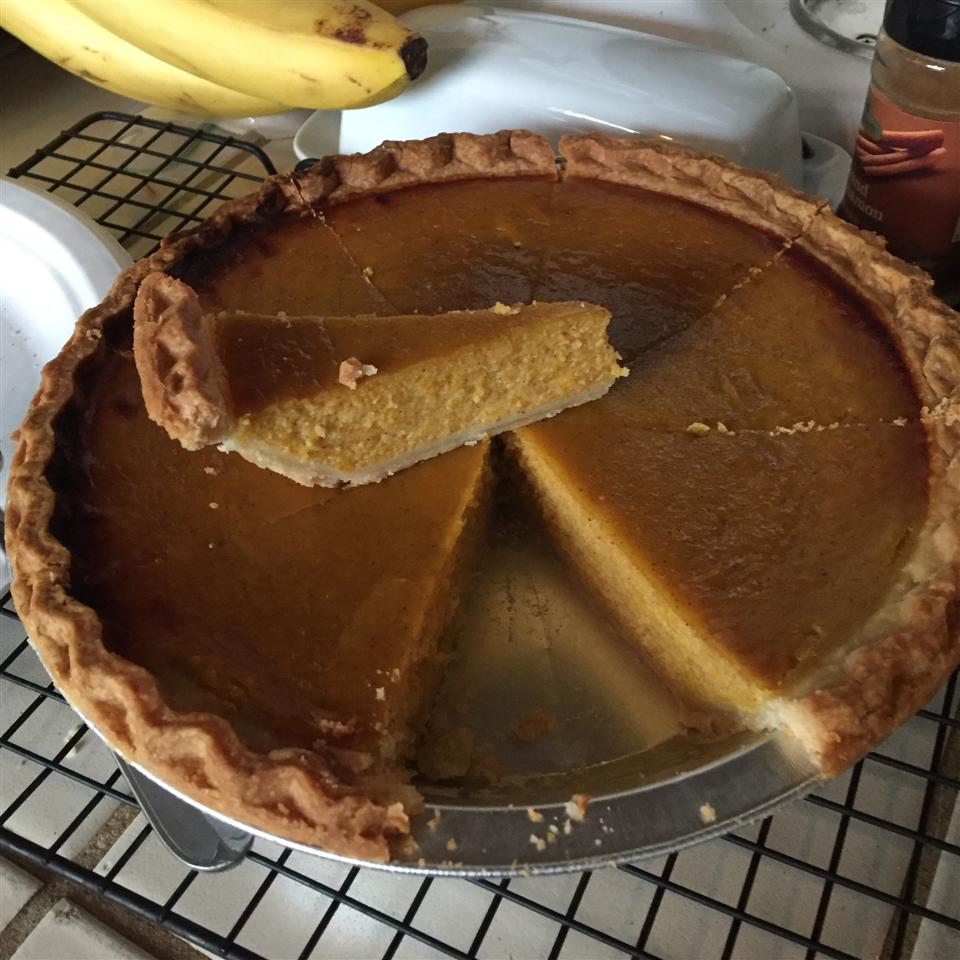 Fresh Pumpkin Pie Shauna Tiner