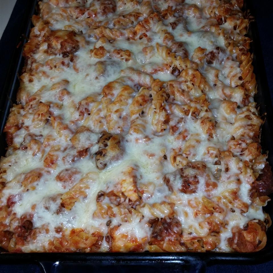 Chicken Parmesan Pasta Casserole Stacie Graham
