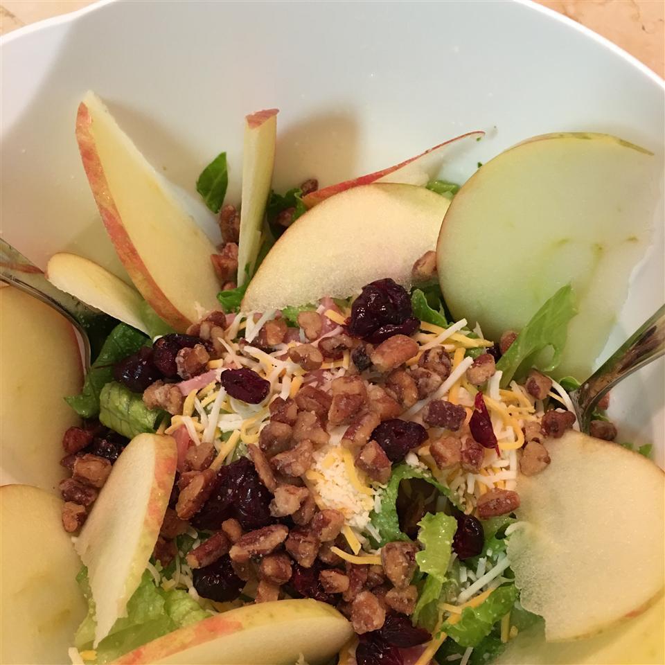 Apple Walnut Salad with Cranberry Vinaigrette Doug