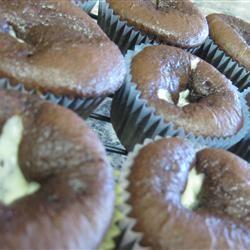 Easy Black Bottom Cupcakes gretamarie