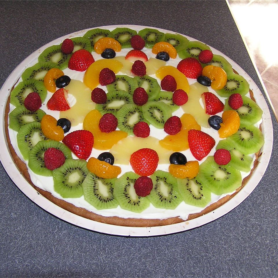 Fruit Pizza with White Chocolate Carrie Michie Simmons