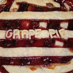 Concord Grape Pie III des