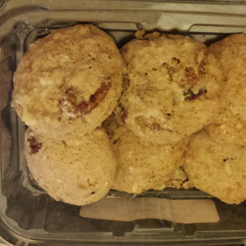 Crazy Yummy Cranberry Pecan Cookies with Orange Glaze Malka