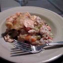 Chicken Pot Pie II apurpleocean