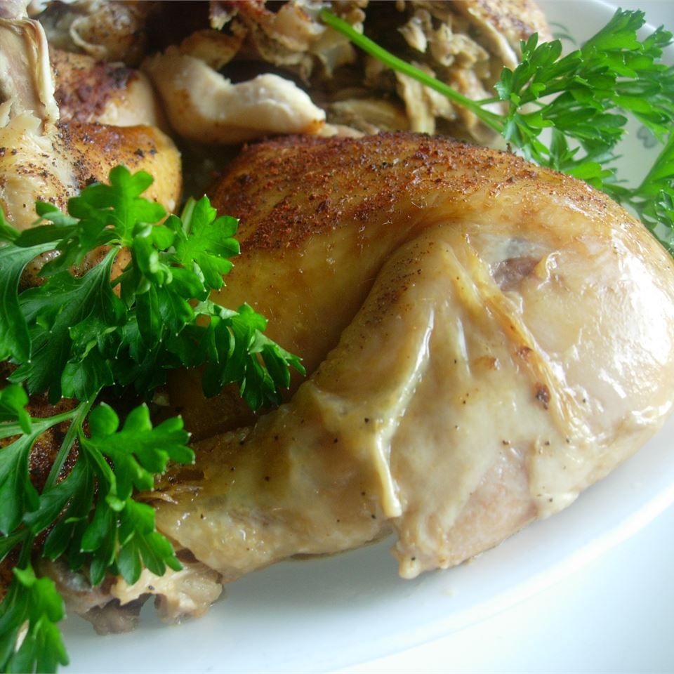 Baked Slow Cooker Chicken