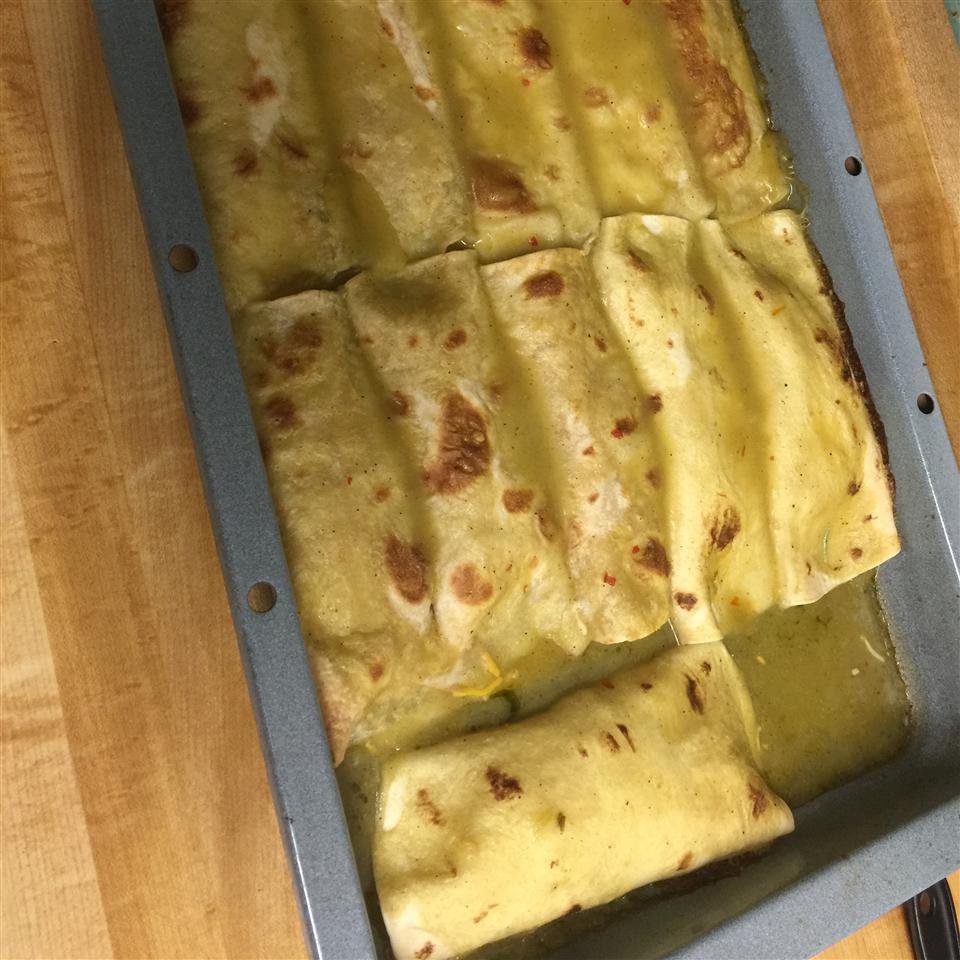 Jalapeno Cream Cheese Chicken Enchiladas Desirae Grove