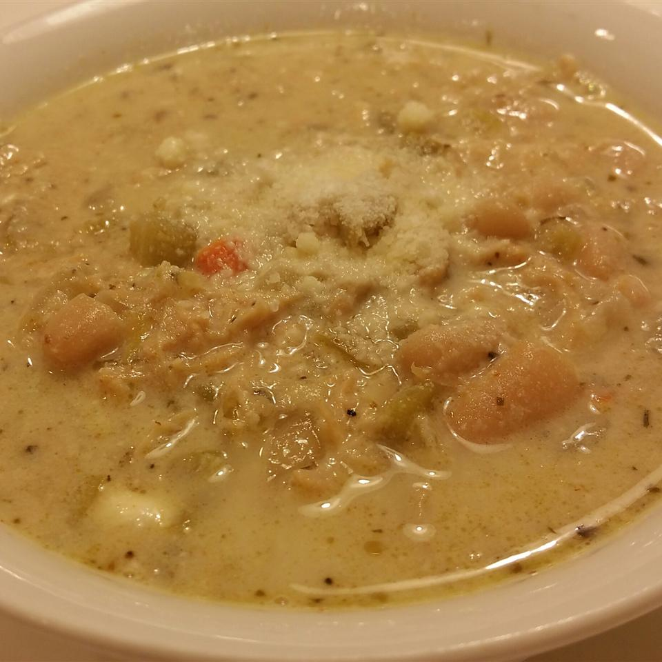 Creamy White Chili cheech