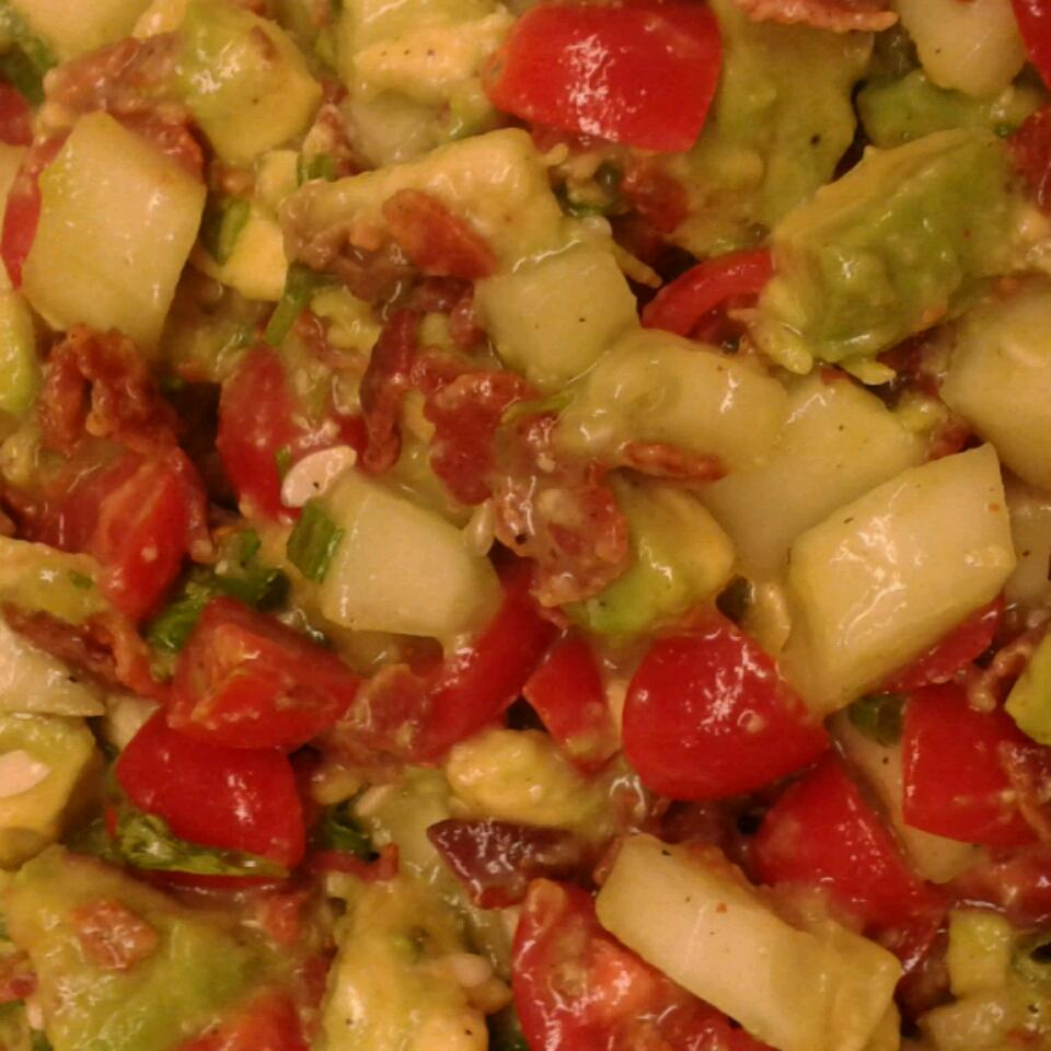 Bacon Avocado Salad Marymerri