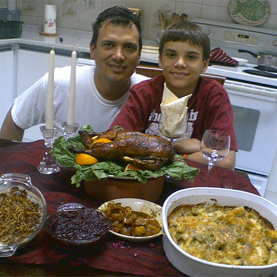 Honey Duck Dad & Cole