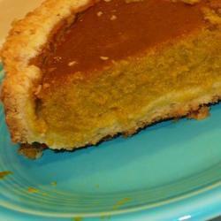Grandma's Sweet Hubbard Squash Custard Pie ladybuggs5224