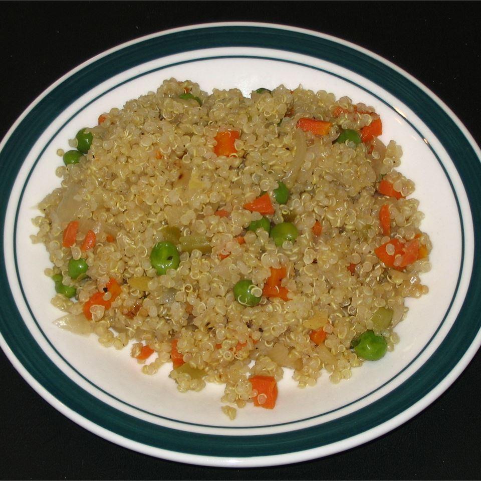 Vegetable Quinoa Pilaf