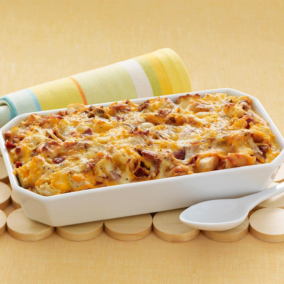 Cheesy Bacon and Egg Brunch Casserole Trusted Brands
