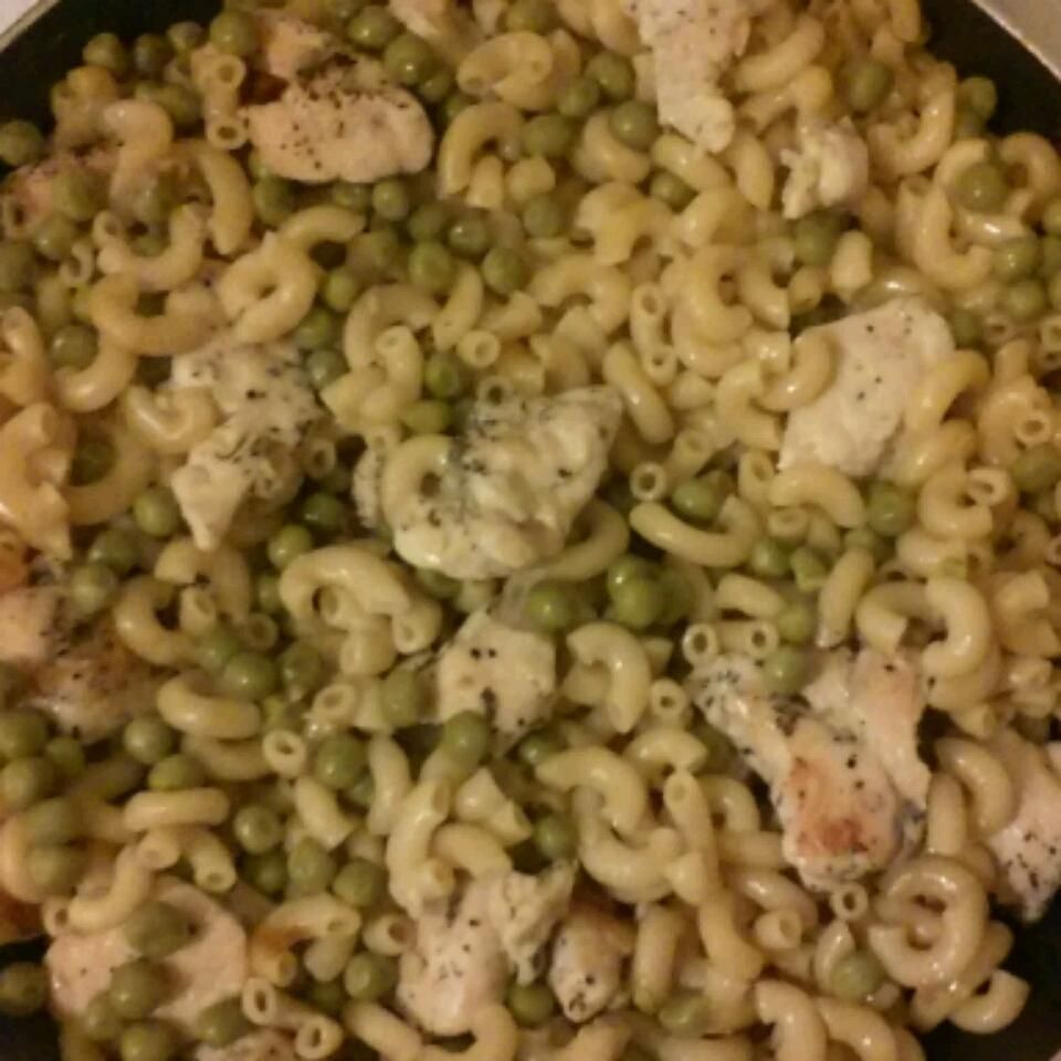 One Dish Chicken Noodles