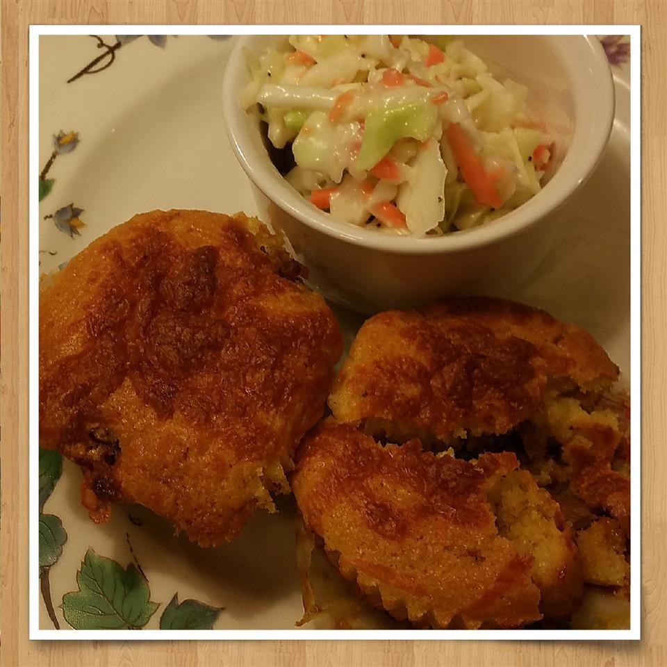 BBQ Pork-Stuffed Corn Muffins cheech