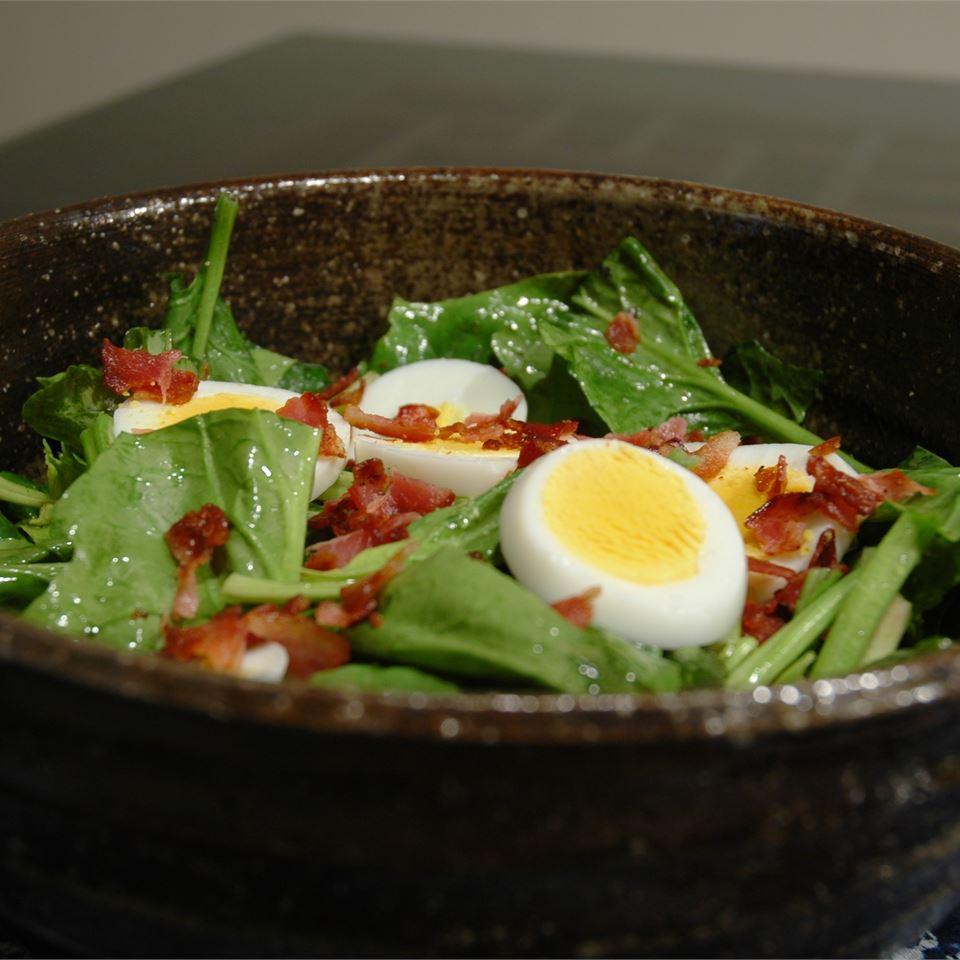 Fresh Spinach and Tarragon Salad