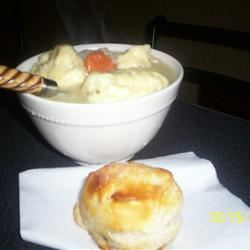 Old Fashioned Chicken and Dumplings inounvme