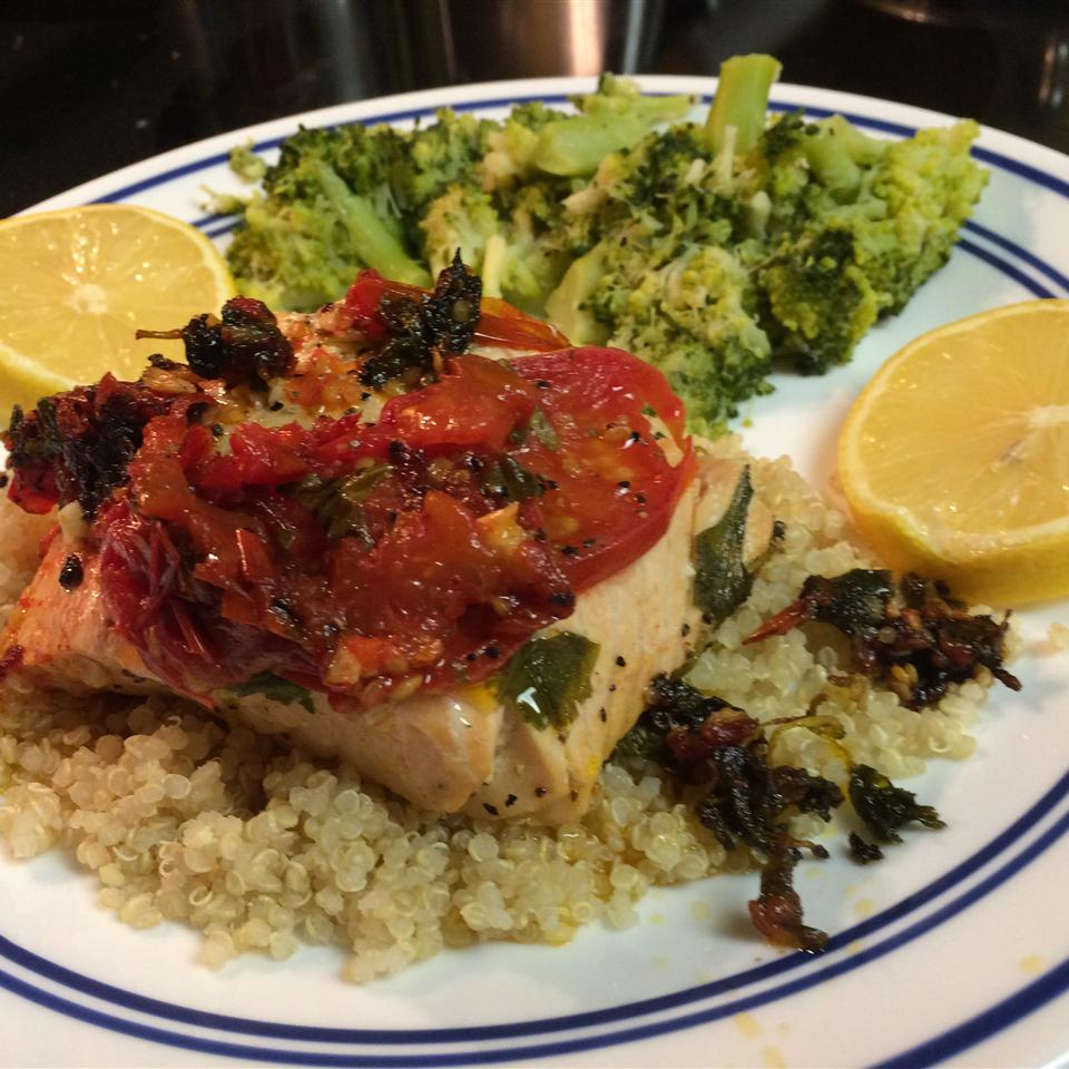 Lemon-Pepper Salmon