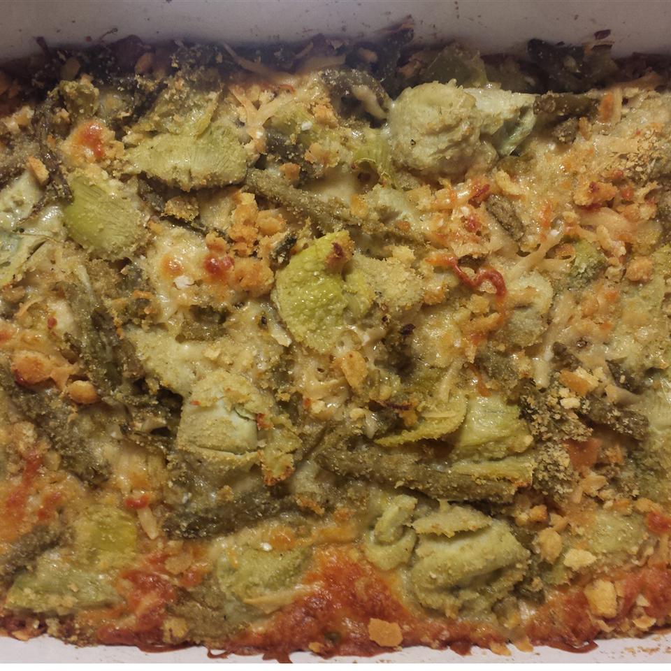 Green Bean Artichoke Casserole Nikki S