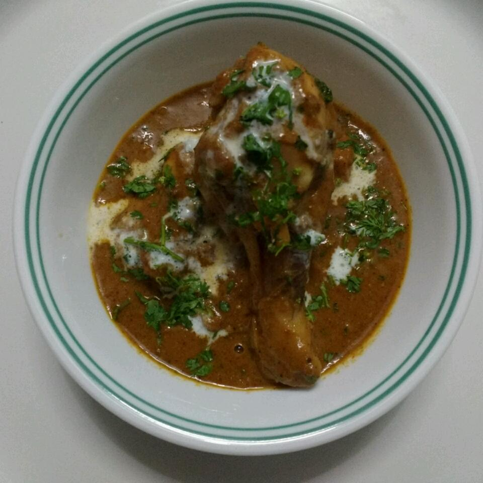 Indian-Style Butter Chicken (Murgh Makhani) Mac Divecha