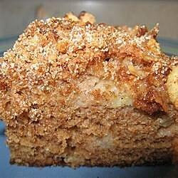 moms prize winning raw apple cake recipe