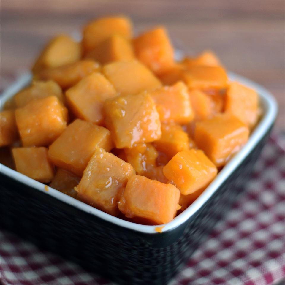 Orange Glazed Sweet Potatoes Cindy Callentine