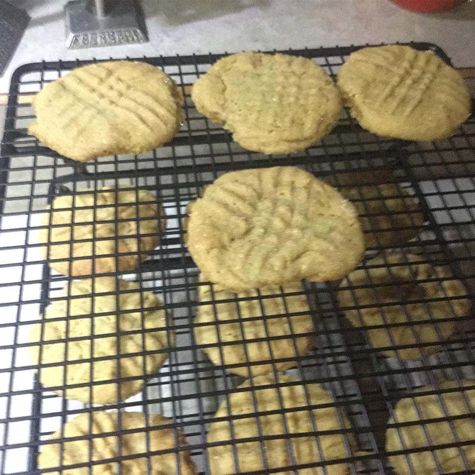 Peanut Butter Molasses Cookies Vicki Keniston