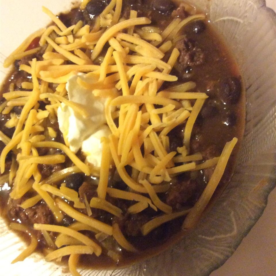 Fantastic Black Bean Chili