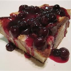 Blueberry French Toast STEFFIEBERGER
