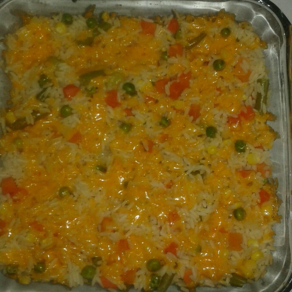 Baked Vegetable Rice Pilaf