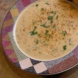 Easy Cream of Chicken Rice Soup Debbie Hinds